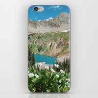 The Blue Lakes of Colorado iPhone & iPod Skin