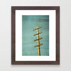 Utilitarian Framed Art Print