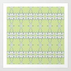 Palm Decco Art Print