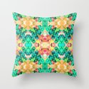 Ice Cream Trip Throw Pillow