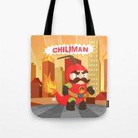 Chiliman Tote Bag