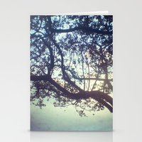 Sunset Trees Stationery Cards