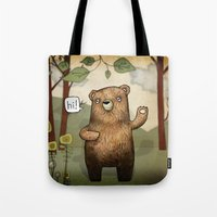 The Little Bear Tote Bag