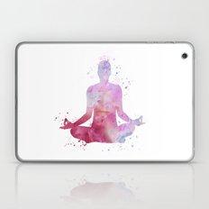 Yoga - Lotus pose  Laptop & iPad Skin