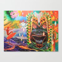 Punchy Canvas Print
