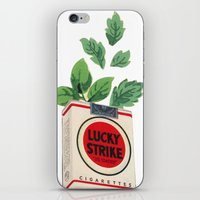 Lucky Leaves iPhone & iPod Skin