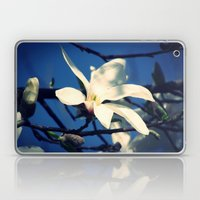 White Magnolia Laptop & iPad Skin