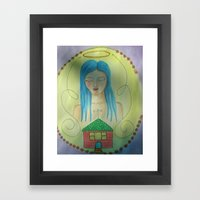 From West to East Framed Art Print