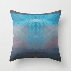 Sunset Mountains 3 Throw Pillow