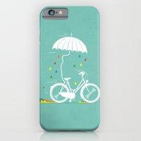 iPhone & iPod Case featuring I want to ride my bike ! by Bajibaj