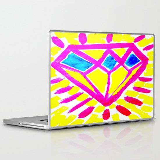 Rough Diamond Laptop & iPad Skin