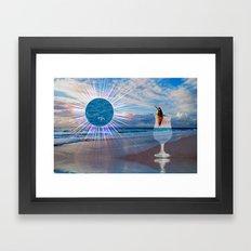 BEACH FANTA-SEA Framed Art Print