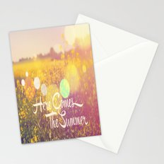 Here Comes The Summer Stationery Cards