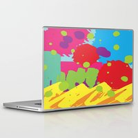 graffiti Laptop & iPad Skins featuring Graffiti by Nwsc