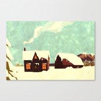 The loving home of Bunny Lebowski Canvas Print
