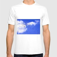 Balloons Mens Fitted Tee White SMALL
