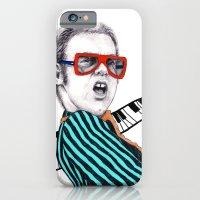 Vintage Elton - Analog Z… iPhone 6 Slim Case