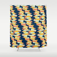 BP 62 Rectangle Stripes Shower Curtain