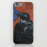 iPhone & iPod Case featuring The Raven and the Moon  by Emily Storvold