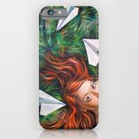 iPhone & iPod Case featuring Summer Grass. Tuzello's Dream. by Yulia Katkova