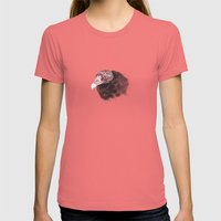 Vulture Womens Fitted Tee Pomegranate SMALL
