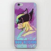 BUBalicious Wolverine iPhone & iPod Skin