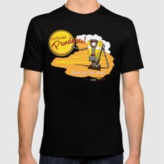 Visit Pandora! SMALL Mens Fitted Tee Black