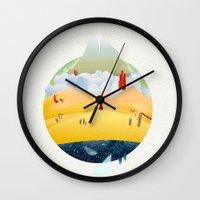 My Journey Wall Clock