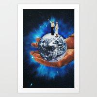 untitled space Art Print