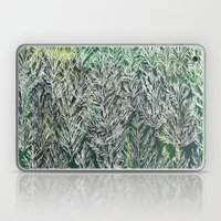 Snow Pines(Light Green) Laptop & iPad Skin