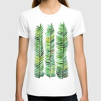 paint T-shirts featuring Seaweed by Cat Coquillette