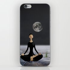 Let yourself drift through time and space iPhone & iPod Skin