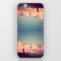 Pink Clouds iPhone & iPod Skin