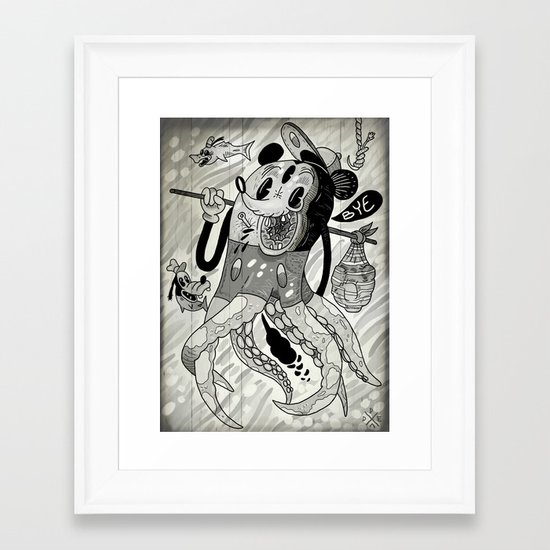 Rock Bottom  Framed Art Print