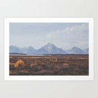 Wyoming XXXI Art Print