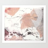 Traces (II) Art Print