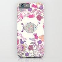 iPhone & iPod Case featuring jungle fish by cubik rubik