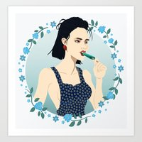 Betty Blue Art Print