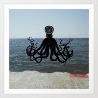 The Octopus. Art Print