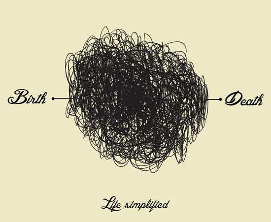 Life Simplified Art Print