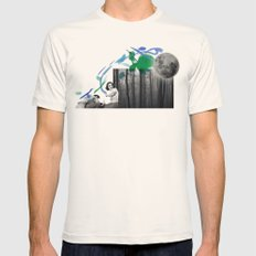 STRANGER Mens Fitted Tee Natural SMALL