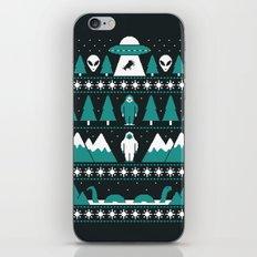Paranormal Xmas iPhone & iPod Skin