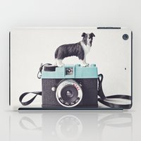 The Collie And The Diana iPad Case