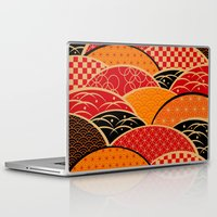 japan Laptop & iPad Skins featuring JAPAN by rie_lalala