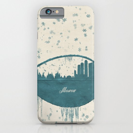 Frozen Moscow iPhone & iPod Case