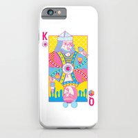 iPhone Cases featuring King Of Nothing, Queen Of Nowhere by John Tibbott