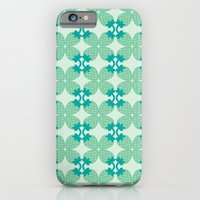 iPhone & iPod Case featuring Pattern: Blue Strawberries by ajoo