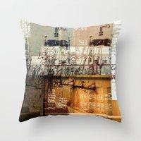 BABEL OVERDUBS II Throw Pillow
