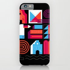 Postcards from Amsterdam / Typography iPhone 6 Slim Case