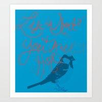 Sally Sparrow Art Print